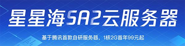 腾讯云首款自研服务器星星海SA2云服务器性能测评